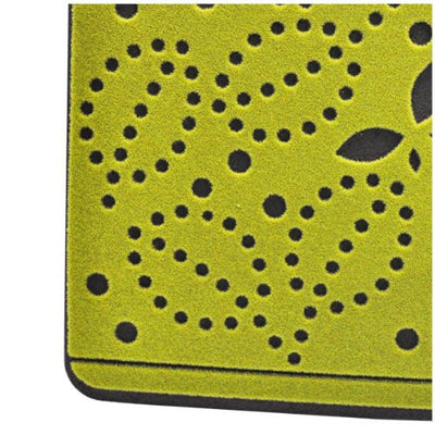 Outdoor Corridor Half-Oval Olive Green Door Mat - 60 x 90cm