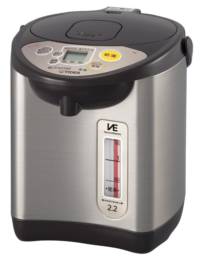 photo of the TIGER Thermos Electric Kettle 2.2l Power-Saving Ve Warm Noriko's