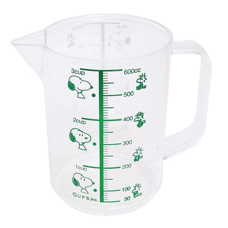 * Osk Snoopy Measuring Cup (Large) For Kitchen Use - 600ml