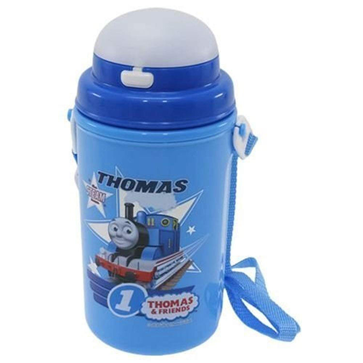 Thomas The Tank Engine (No.2) Straw With Water Bottle (Cold Type) 450ml