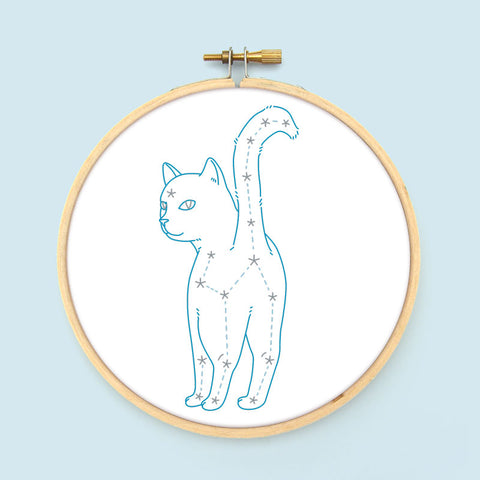 Galactic Goodbye Embroidery Pattern