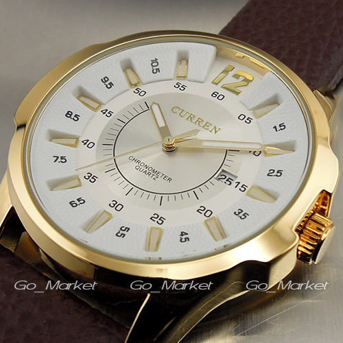 CURREN FASHION LUXURY BRAND MALE WRIST WATCHES
