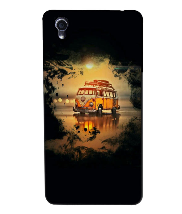 Oppo F1plus Sunset mobile cover