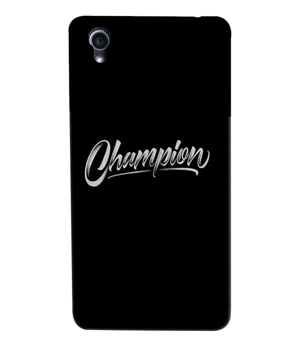 Oppo F1 Plus Champion Mobile Cover