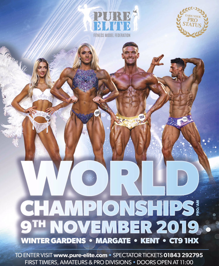 Pure Elite World Championships 9th November - Beauty Services