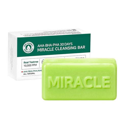 [SOME BY MI] AHA BHA PHA 30 Days Miracle Cleansing Bar - kmade cosméticos coreanos