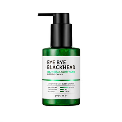 [SOME BY MI] Bye Bye Blackhead 30Days Miracle Green Tea Tox Bubble Cleanser - 120g (40%OFF)