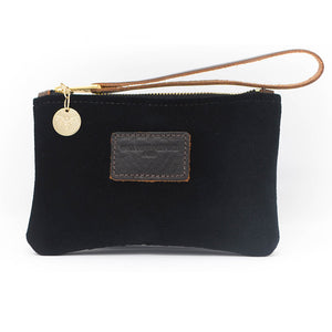 Ada Mini Clutch - Black Velvet