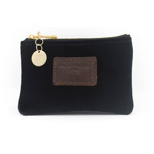 Jane Coin Purse - Black Velvet