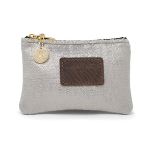 Jane Coin Purse - Silver Sparkle