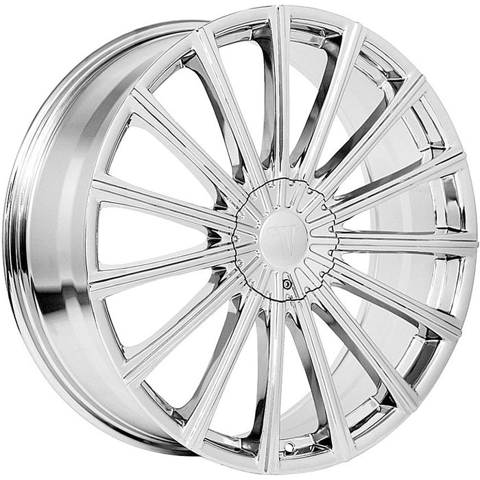 "17"" Velocity VW10 Wheels Chrome"