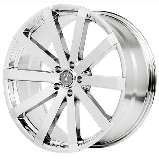 "20"" velocity vw12 chrome wheels"