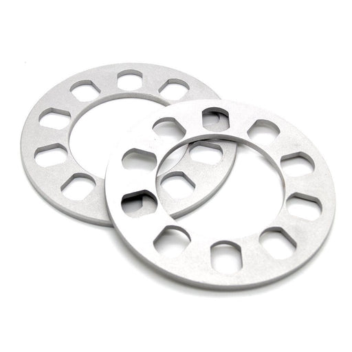 "5 Lug Wheel Spacer (0.5"", 12mm) 5x4.5 5x4.75 5x5 5x114.3 5x120 5x127"