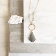 Load image into Gallery viewer, Bohemian Necklace. Kite Necklace.