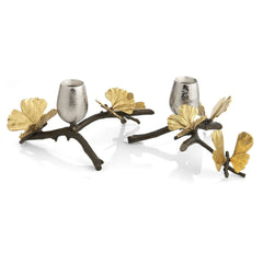 Pr. Butterfly gingko candlesticks