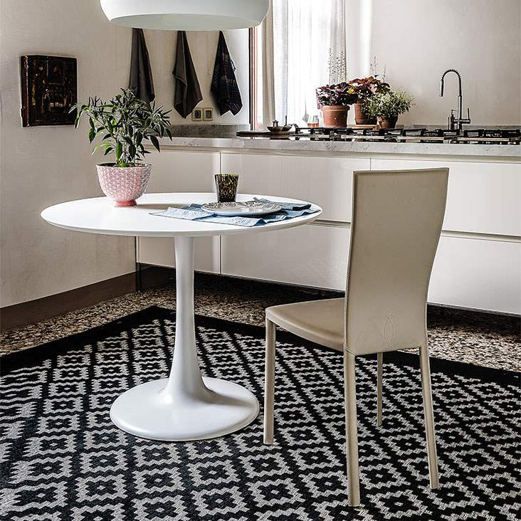 Hugo Bistro table -  Dining table made in Italy by Cattelan Italia