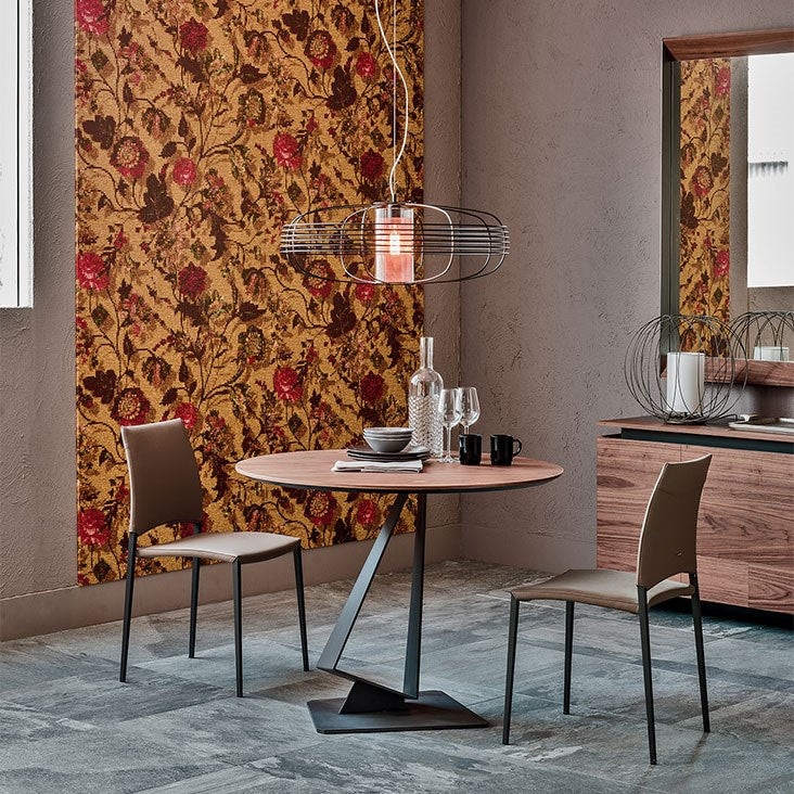 Roger - Modern bistro table by Cattelan Italia made in  Italy