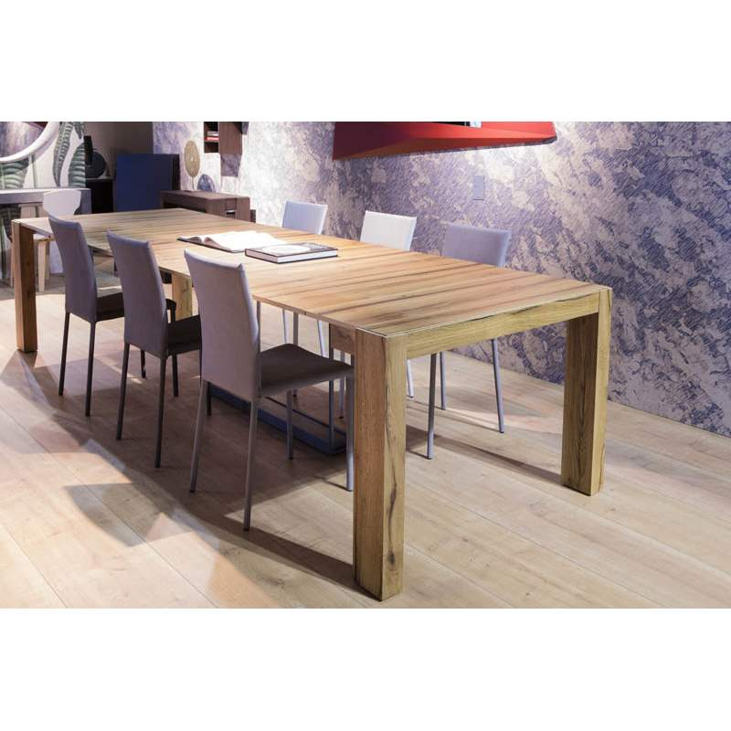 A3 - expandable Italian table in fully expanded configuration