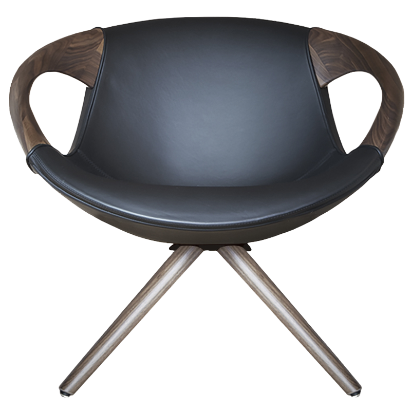 Italian lounge chair - Up Lounge 917.35 by Tonon