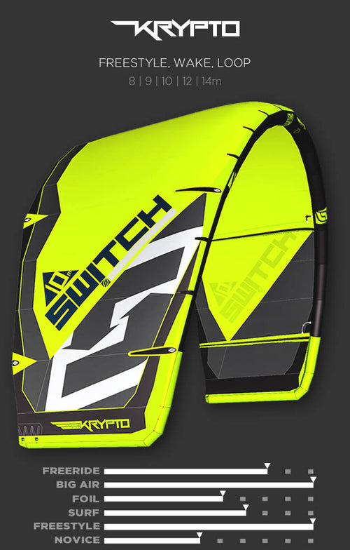 KRYPTO Switch Kiteboarding