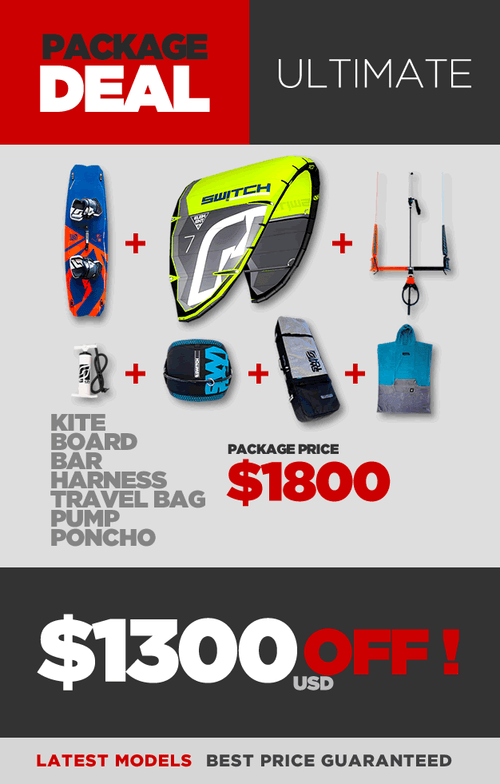 Kiteboarding Package Deal - Ultimate - $1300 OFF