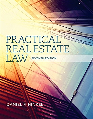 Practical Real Estate Law (Mindtap Course List)