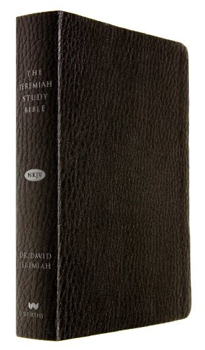 The Jeremiah Study Bible, Nkjv: Black Leatherluxe