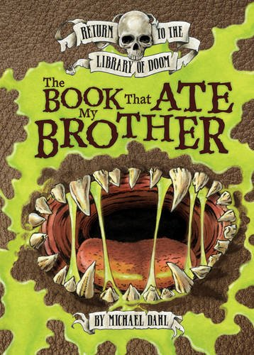 Book That Ate My Brother (Graphic Fiction: Return To The Library Of Doom)
