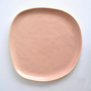 Organic Dinner Plate - Beetroot