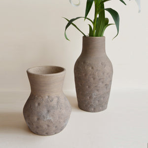 Zaire Ceramic Vase - Grey