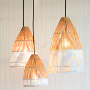 Dipped Bamboo Lights (Set of 3)