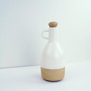 Dipped White Alfresco Decanter