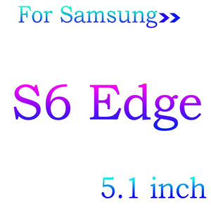 5D Curved Tempered Glass Screen Protector For Samsung Galaxy S9 S8 S7 S6 edge plus S 9 8 7 6 + Cover Protective Film