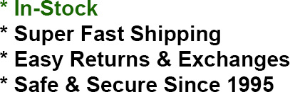 IN-STOCK | FAST SHIPPING | EASY RETURNS | SECURE SHOPPING
