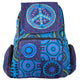 Peace Sign Applique Backpack