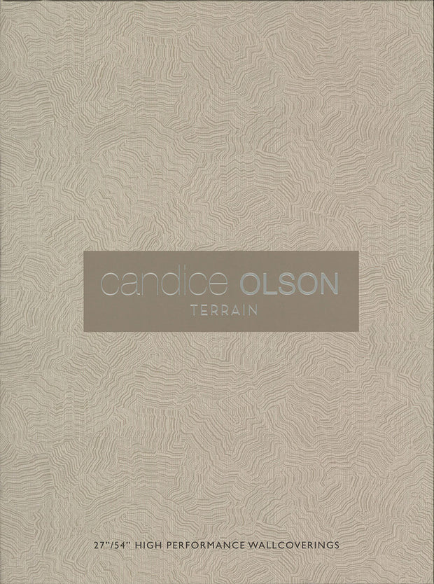 Pampas Wallpaper by Candice Olson - White/Off Whites