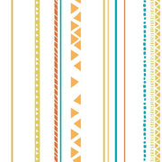 Disney Kids The Lion King Guard Tribal Stripe Wallpaper - SAMPLE SWATCH ONLY