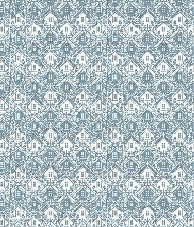 NR1550 Norlander Chalet Wallpaper york Blue