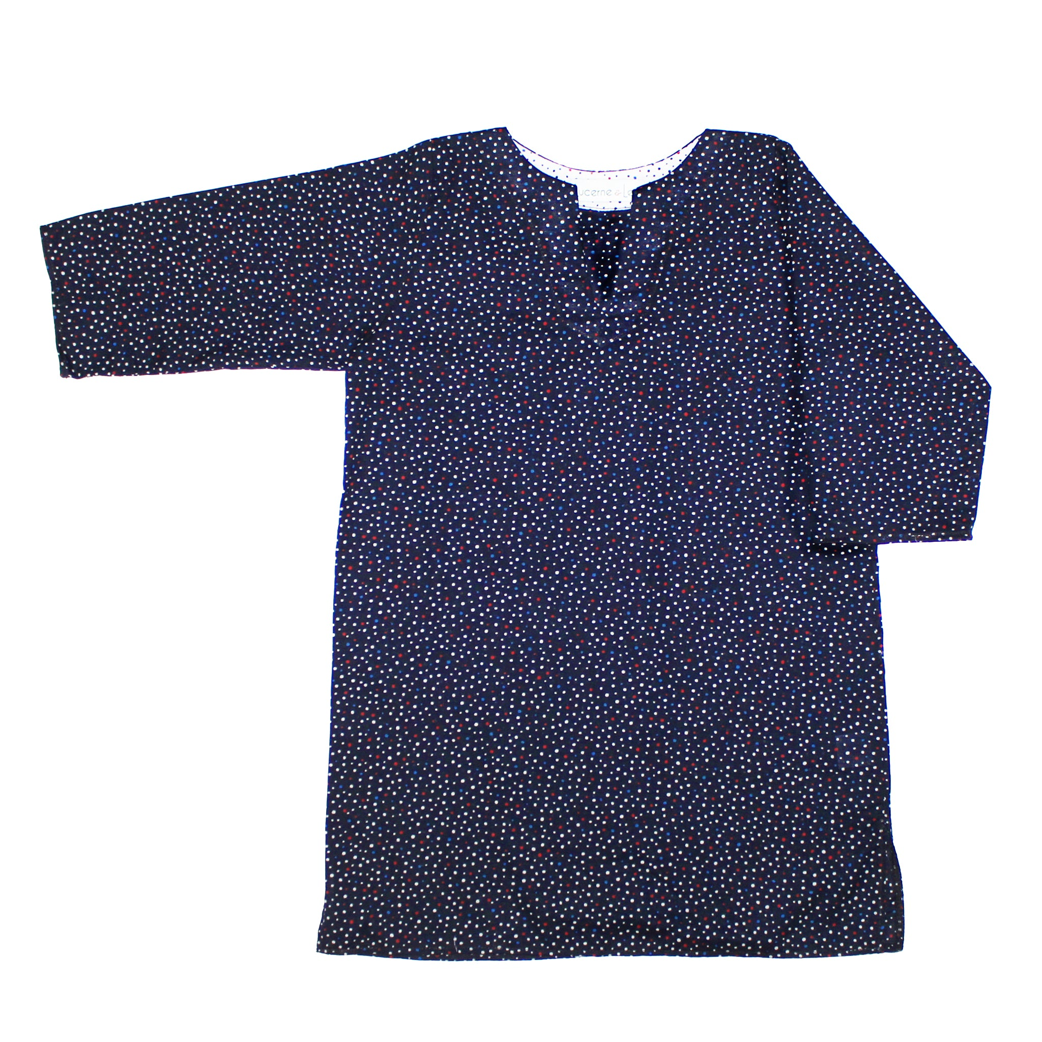 Girls Classic Tunic In Polka Dot