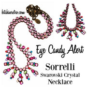 Eye Candy Alert! Sorrelli Swarovski Crystal Necklace at bitchinretro.com