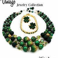 Vintage Shamrock Jewelry Collection at bitchinretro.com