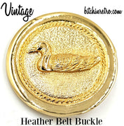 Vintage Heather Duck Buckle at bitchinretro.com
