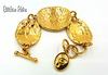 "Elizabeth Taylor for Avon Vintage ""Gold Coast Collection"" Jewelry Set"