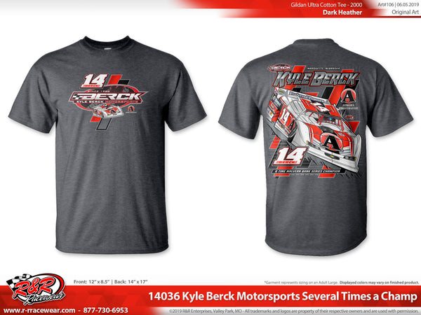 Kyle Berck 2019 Grey T-shirt
