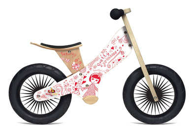 Kinderfeets Retro Pretty Princess Balance Bike