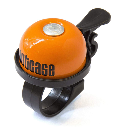 Nutcase - Thumbdinger Bike Bell Orangey Orange- Tikes Bikes