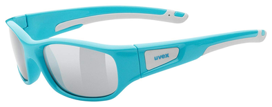 UVEX Eyewear 506 Sports Style Children's Eye Protection blue/lm silver