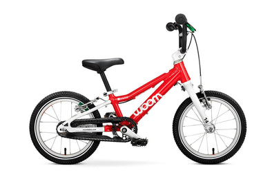 "WOOM 2 14"" Pedal Bike- Red- Tikes Bikes"