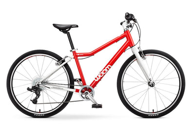 "WOOM 5 24"" Pedal Bike- red"