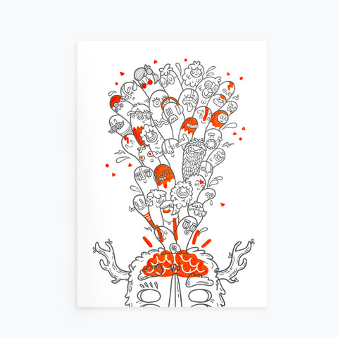 Creativity: Big Ideas Print